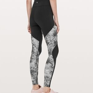 6965589d16 lululemon athletica Pants - NWT Lululemon Floral Slim Black Yoga Pants  Legging